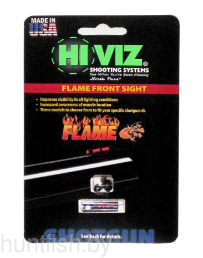 Мушка HiViz Flame Sight красная универсальная