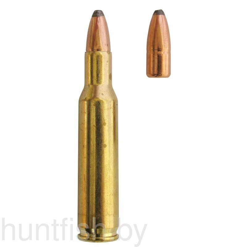 Патрон нар. 222 REMINGTON 55г. SP, Pretoria Metal Pressing/ЮАР