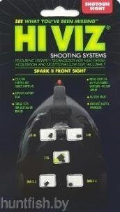 Мушка HiViz SPARK II front sight красная универсальная